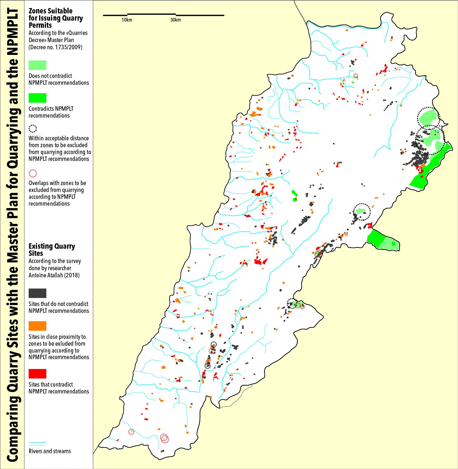 Jadaliyya - Reading the Quarries' Map in Lebanon
