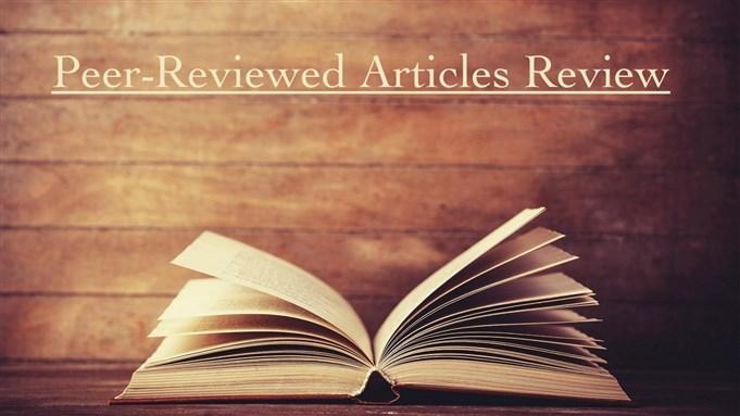 Jadaliyya - Peer-Reviewed Articles Review: Winter 2018/2019