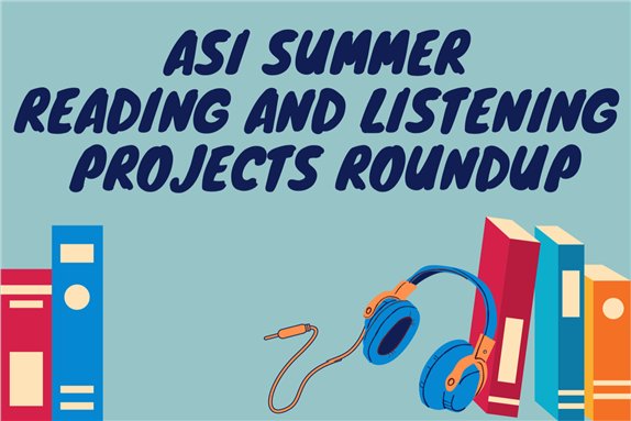 Arab Studies Institute Summer Reading and Listening Projects Roundup