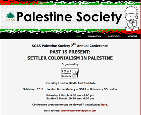 [SOAS Palestine Society Organizing Collective; Image from their website]
